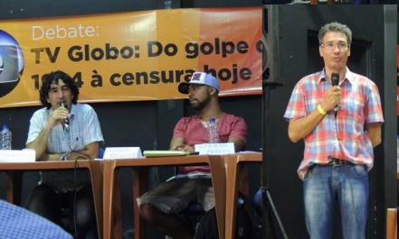 Em 2014, blogueiro participou de debate e 'churrascão da solidariedade' promovido pelo Barão.