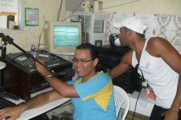 Piter Júnior na rádio comunitária Coité FM